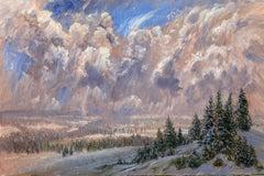 Winter Solstice, Flathead Valley, Montana