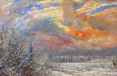 Winter Sun, Northwest Montana