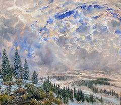 Winter View, Flathead Valley, Montana