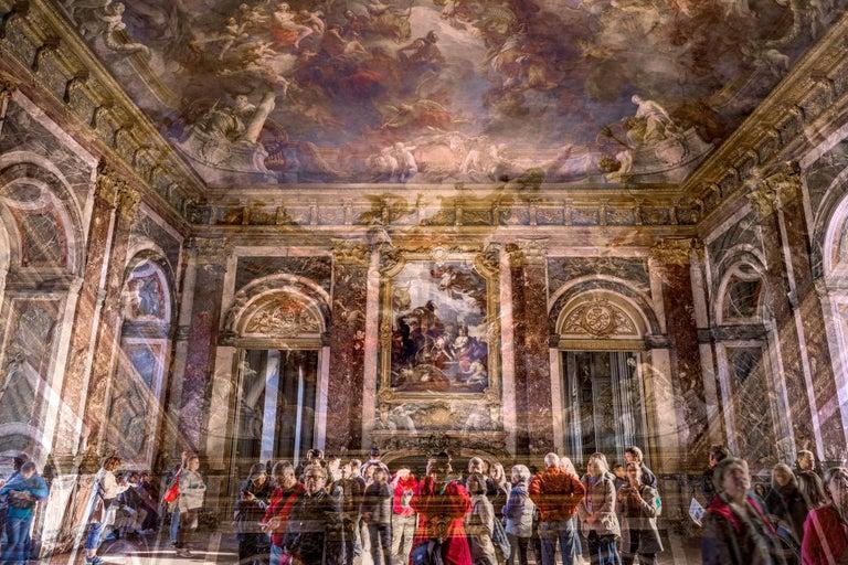 Nicolas Ruel Color Photograph - Le salon d'Hercule (Versailles, France)