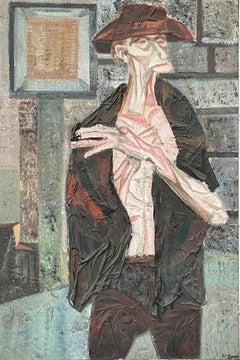 """Standing Figure,"" Nicholas Sperakis, Rhino Horn Group, American Realist"