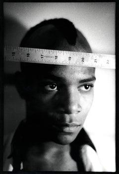 Basquiat 1979 photograph (Nick Taylor Jean-Michel Basquiat Gray)