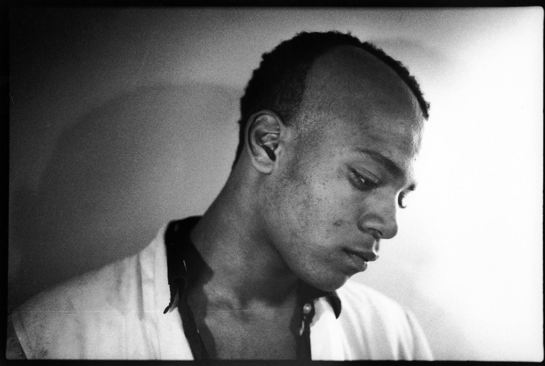 Jean-Michel Basquiat photograph 1979 (Nick Taylor of Gray)