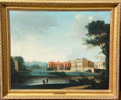 18th Century View of Bishopthorpe Palace Yorkshire