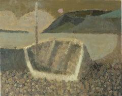 Boat at Sennen - 21st century - Contemporary - oil - landscape