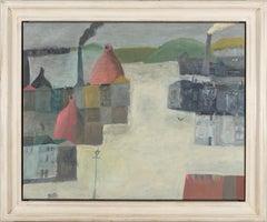 Nicholas Turner Bottle Kilns landscape oil painting