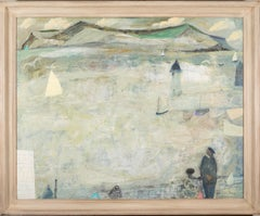 Nicholas Turner Fisherman and White Harbour 2020 landscape oil painting