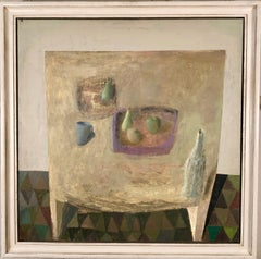 Nicholas Turner Table with Pears still life oil painting
