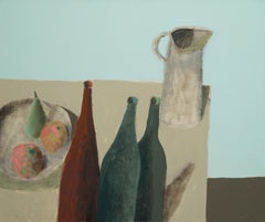 Table with Bottles - 21st century - Still-life - Contemporary
