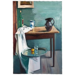 Nicholas Volley, 'Still Life with Jug and Pewter Tray'