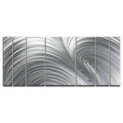 Nicholas Yust Original Modern Raw Metal Wall Sculpture Contemporary Industrial