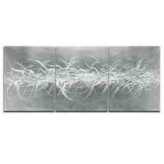 Nicholas Yust Raw Hand-Ground Metal Hanging Wall Sculpture Modern Contemporary