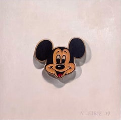 """""""Mickey Pin"""" Oil painting"""