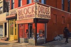 Block Drugs, Oil Painting