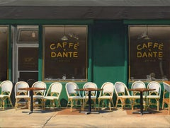 Caffe Dante, Oil Painting