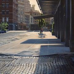 Morning on Gansevoort, Oil Painting