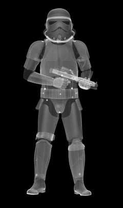 X-Ray StormTrooper with plexiglas face mounted on dibond