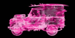 Pink Camo Land Rover Surfer