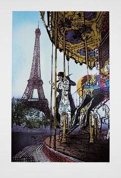NICK WALKER: The Last Ride Screen print on paper Street Art, Urban Art, Graffiti