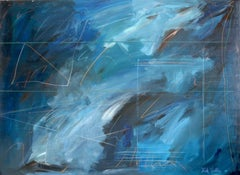 More Afterthoughts 8, Large Abstract Painting by Nick Wallis