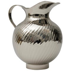 Nickel-Plated Water Pitcher