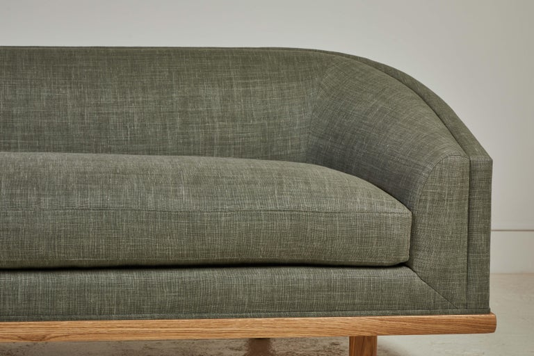 American Nickey Kehoe Collection Curved Sofa