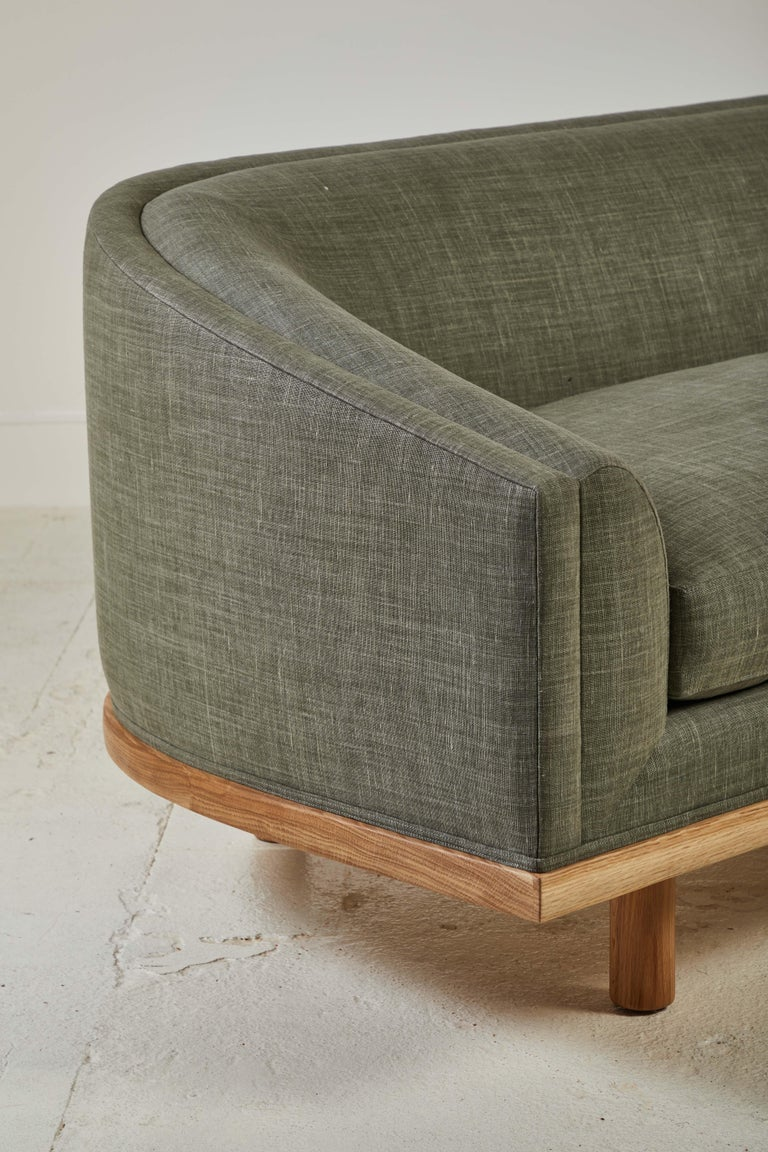 Contemporary Nickey Kehoe Collection Curved Sofa