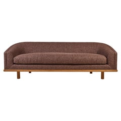 Nickey Kehoe Collection Curved Sofa in Boucle
