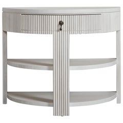 Nickey Kehoe Collection Demilune Side Table