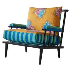 Nickey Kehoe Collection Metal Outdoor Spindle Chair