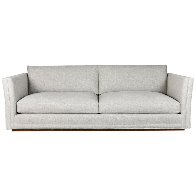 Nickey Kehoe Collection Modern Sofa For Sale