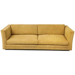 Modern Sofa in Suede