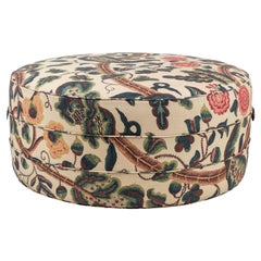 Nickey Kehoe Collection Round Large Ottoman