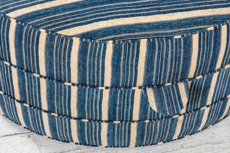 Fabric Nickey Kehoe Collection Round Ottoman