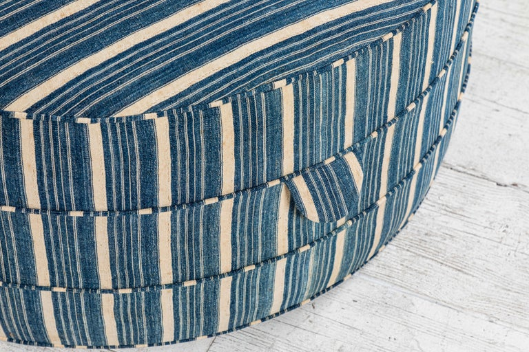 Nickey Kehoe Collection Round Ottoman 3