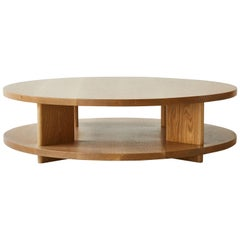 Nickey Kehoe Collection Round Shelf Coffee Table