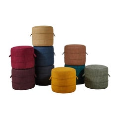 Nickey Kehoe Collection Small Round Hassock