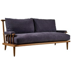 Nickey Kehoe Collection Spindle Back Viewing Settee