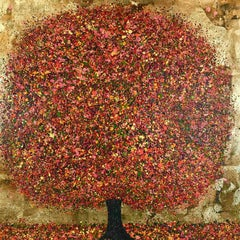 Magical Autumn Light , Nicky Chubb, Original Tree Art, AffordableNature Painting
