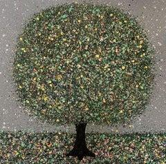 Nicky Chubb, Raindance II, Original Affordable Art, Tree Painting, Art Online