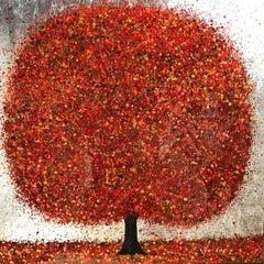 All that Glisters, Nicky Chubb, Original Painting, Original Art, Nature, Tree
