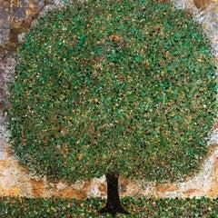 Daydreaming of Summer, Nicky Chubb, Original Painting, Tree art, Original Art