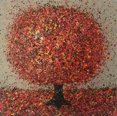 Nicky Chubb, Autumn Sunshine, Original Painting, Autumnal Art, Affordable Art