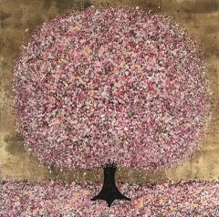 Nicky Chubb, Cherry Blossom and Sunshine, Contemporary Art, Affordable Art