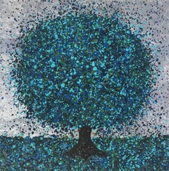 Nicky Chubb, Cobalt Sparkle II, Contemporary Art, Affordable Art, Art Online