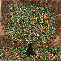 Nicky Chubb, Happy Summer Evening, Original Landscape Painting, Art Online
