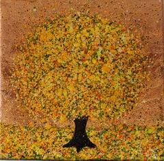 Nicky Chubb, Joyfulness, Original Tree Painting, Nature Art