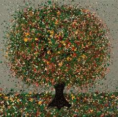 Nicky Chubb, Little Raindance, Original Tree Painting, Affordable Art, Art Onlin