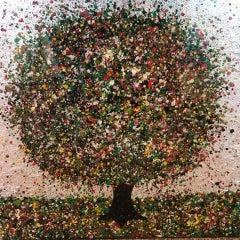 Nicky Chubb, Precious Summertime, Bright Art, Tree Art, Spring Art, Summer Art