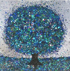 Nicky Chubb, Sapphire Light I, Contemporary Art, Affordable Art, Art Online